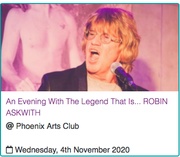 An Evening with The Legend That IS....Robin Askwith
